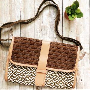 Handbags - Straw Crossbody purse